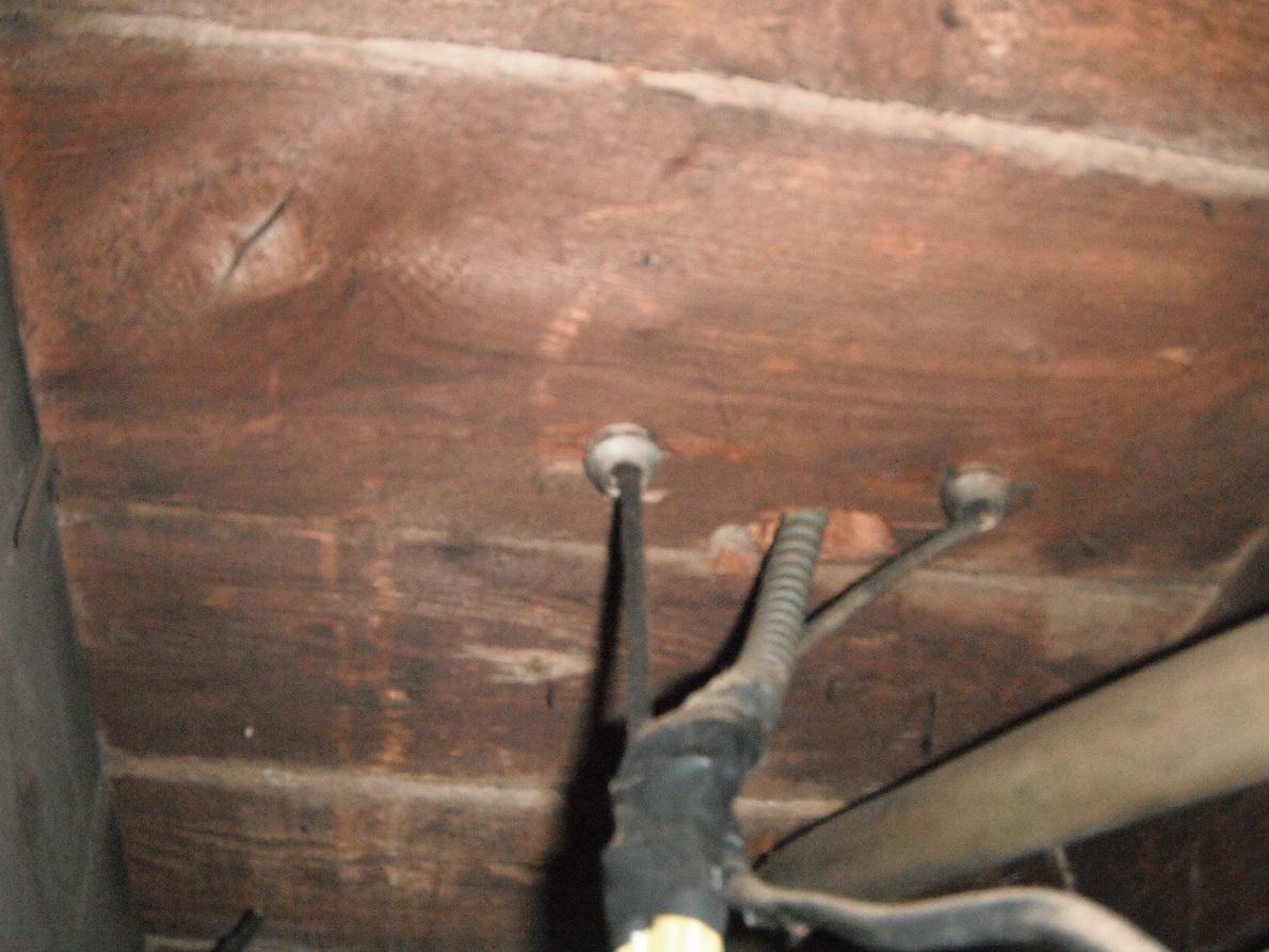 Poorly done dangerous and tube wiring. Safety Hazard ... on maintenance hazards, grounding hazards, plumbing hazards, furnace hazards,